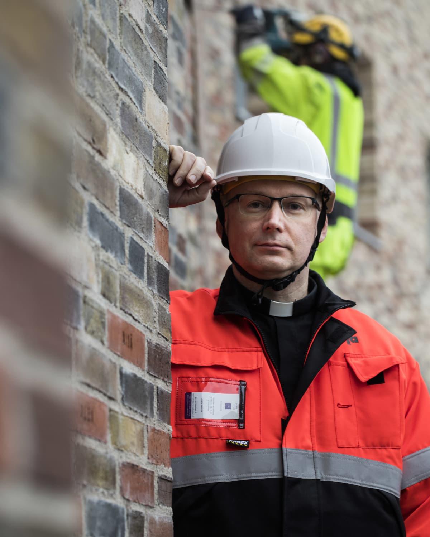 Janne Silvast, kirkkoherra, Tikkurilan seurakunta.