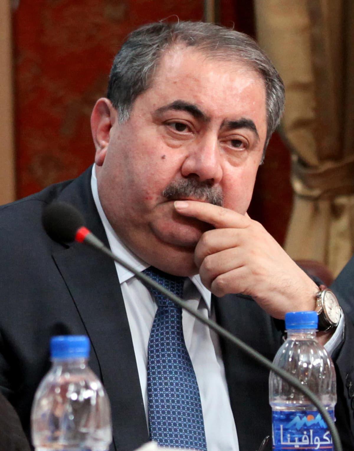Irakin ulkoministeri Hoshyar Zebari.