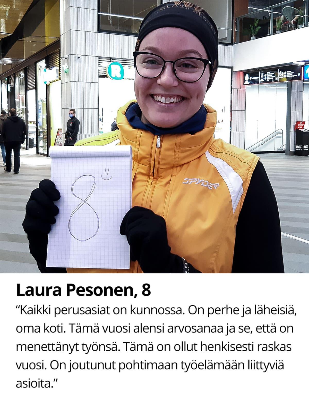 Laura Pesonen, 8