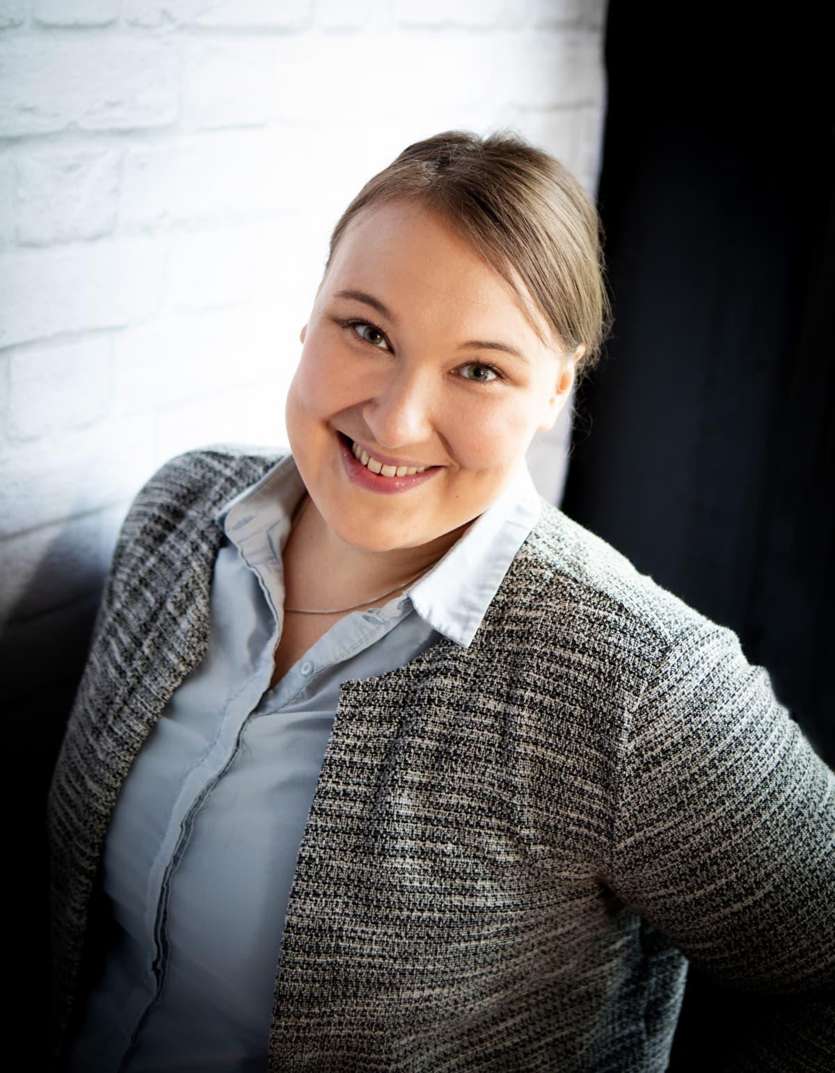 Väitöskirjatutkija Iida Martiskainen.