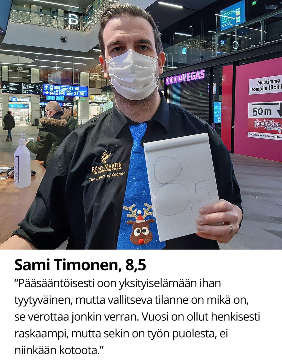 Sami Timonen, 8,5