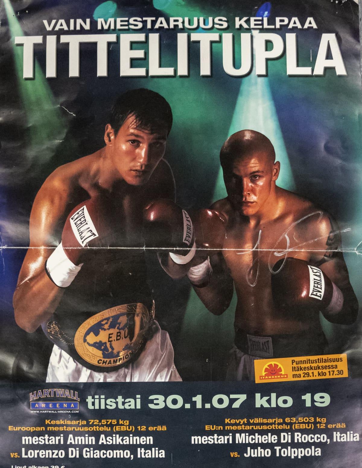 Nyrkkeilijä Juho Tolppola