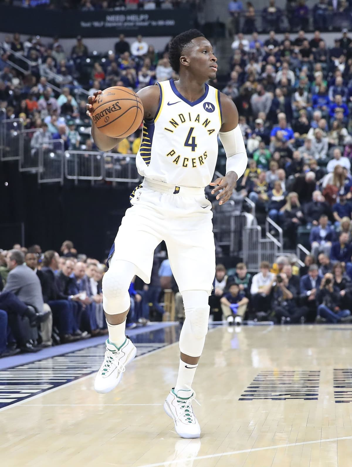 Indiana Pacersin Victor Oladipo 10. maaliskuuta 2020