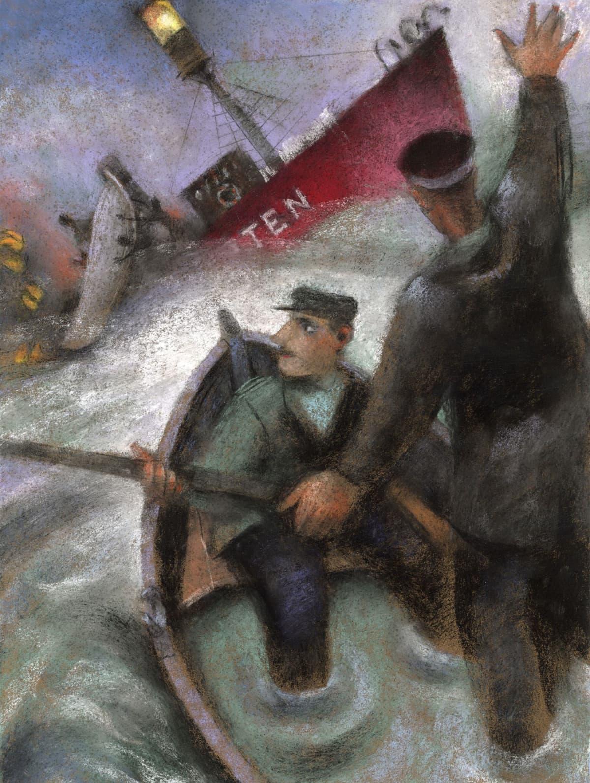 Storbrotten, maalaus Mika Launis