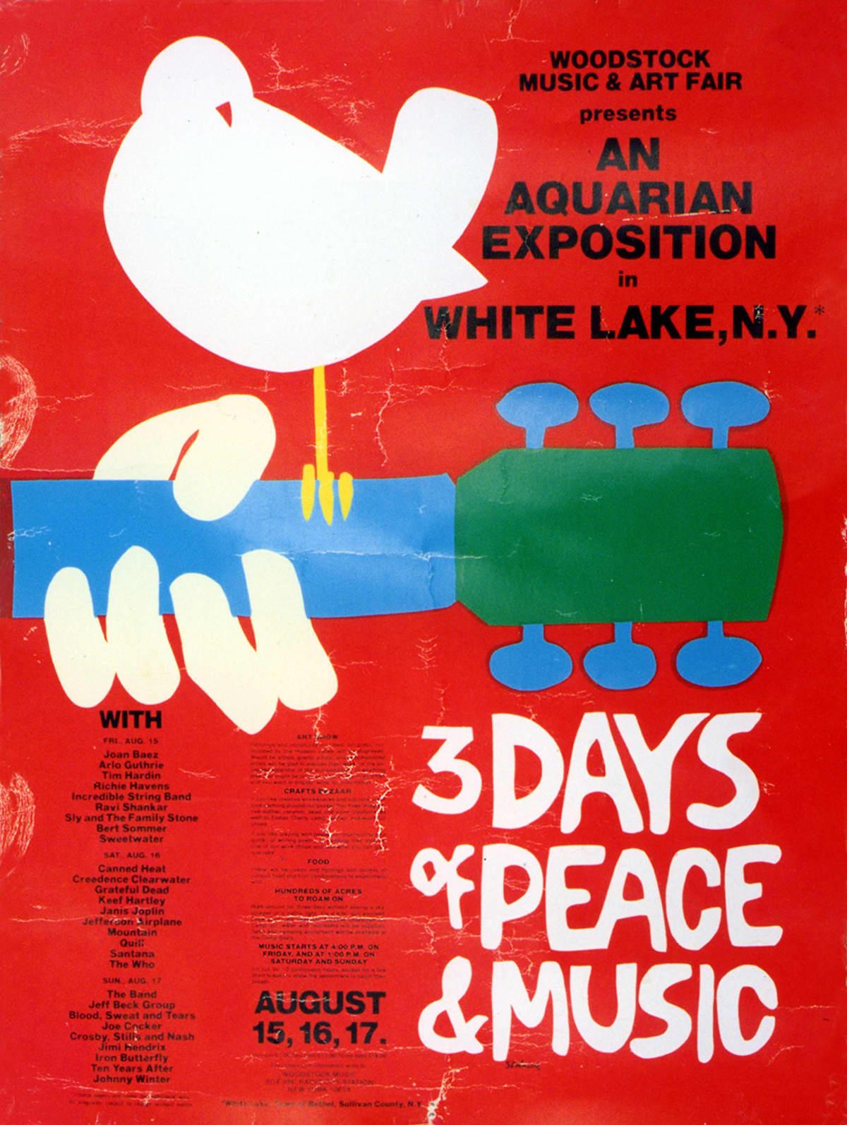 Woodstockin juliste