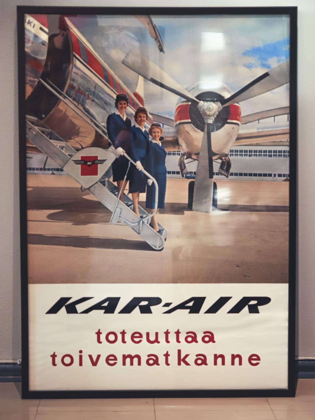 Lentoyhtiön juliste