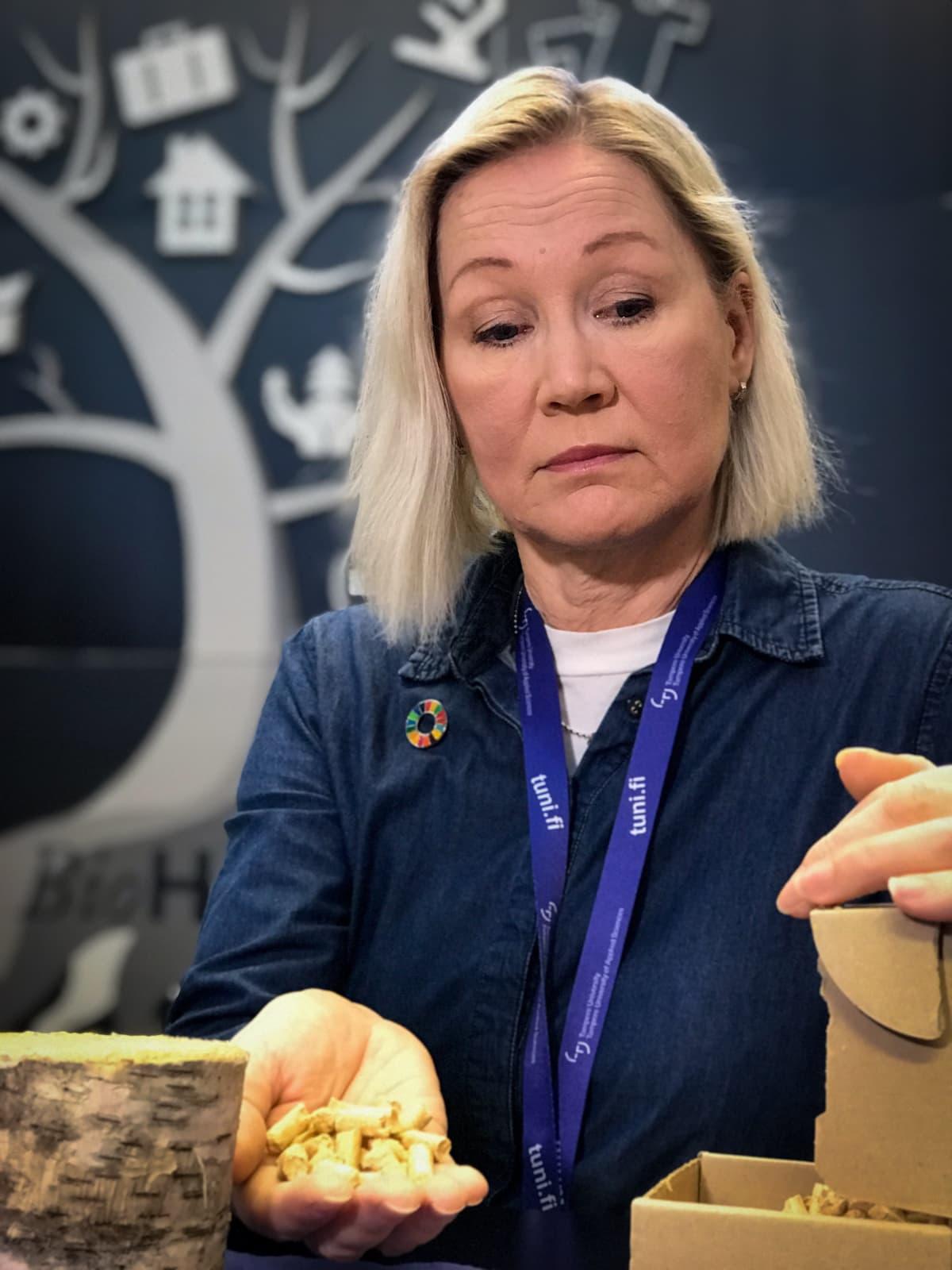 Tampereen ammattikorkeakoulun liiketalouden lehtori Tiina Wickman-Viitala