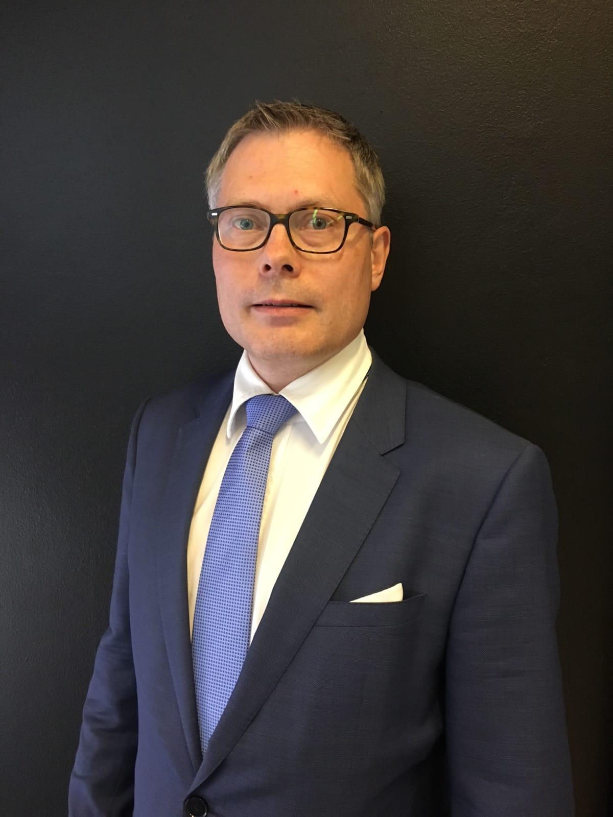 Suomen pysäköintilalan liiton puheenjohtaja Juha Sirelius