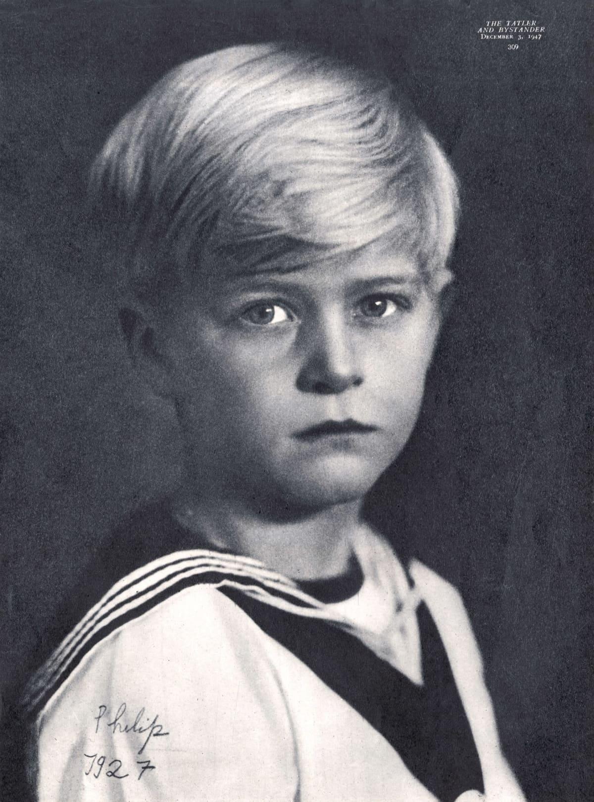 Prinssi Philip lapsena