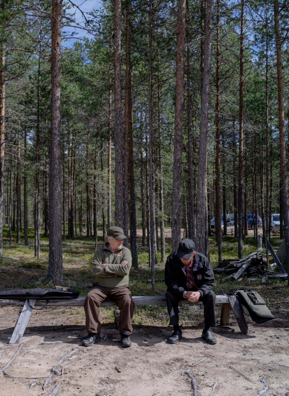 Metsästys on valtaosin vanhempien miesten harrastus edelleen