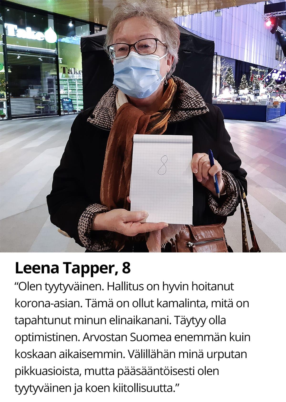 Leena Tapper,8