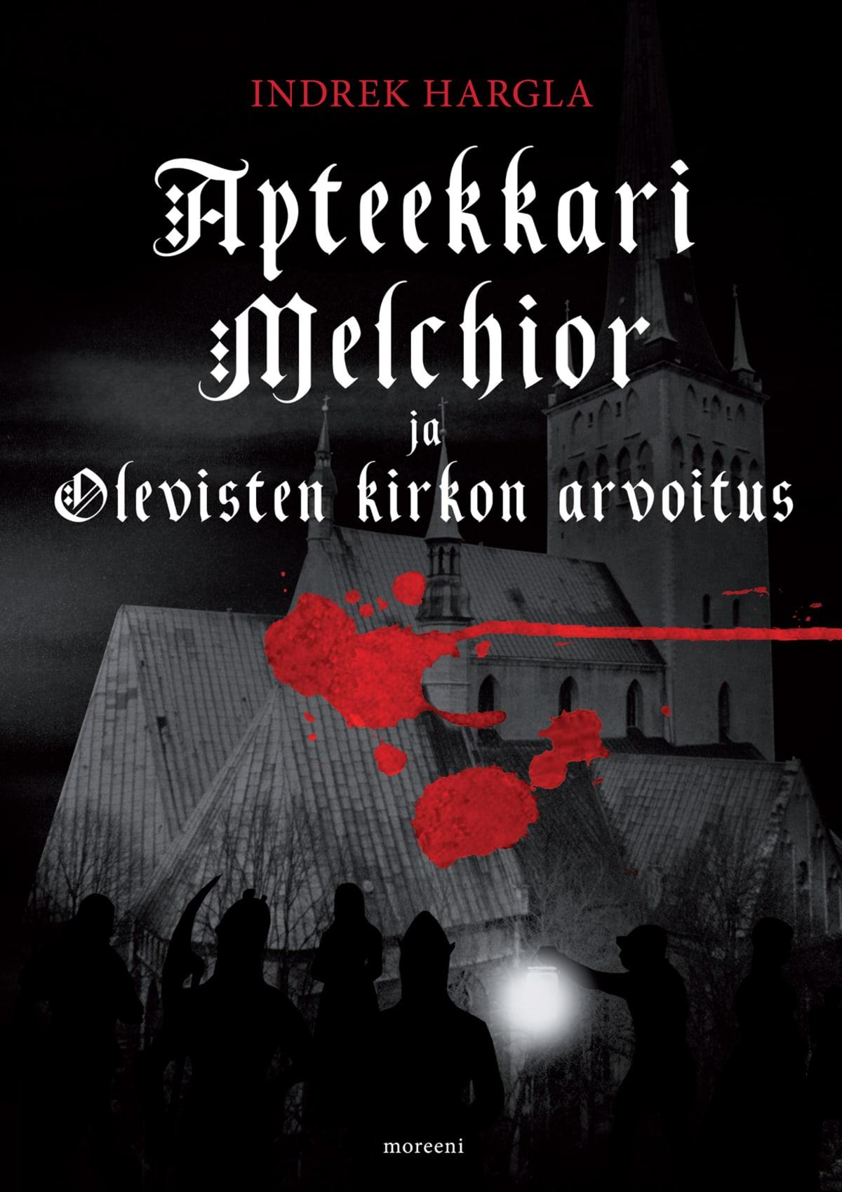 Harglan ensimmäisen Melchior-kirjan kansi, Olevisten kirkon arvoitus