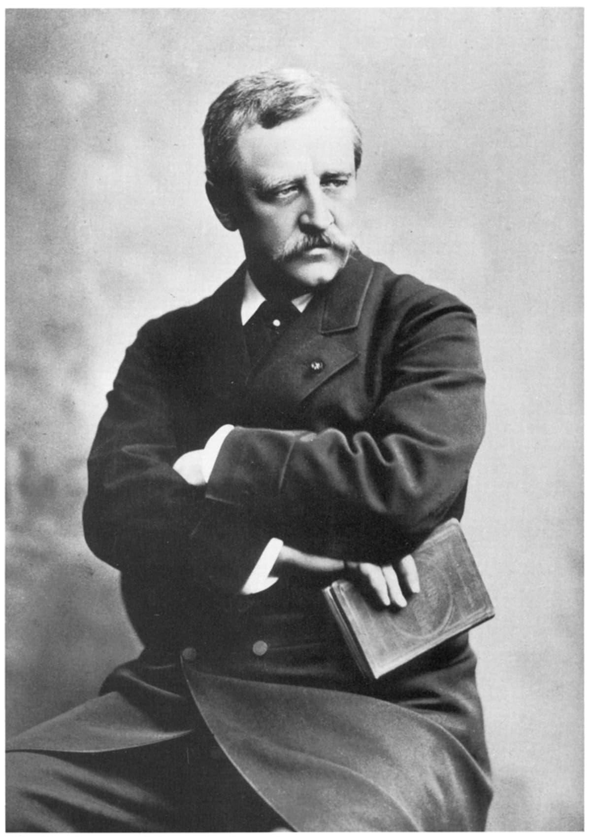 A. E. Nordenskiöld (1832-1901). Valokuva on vuodelta 1878.