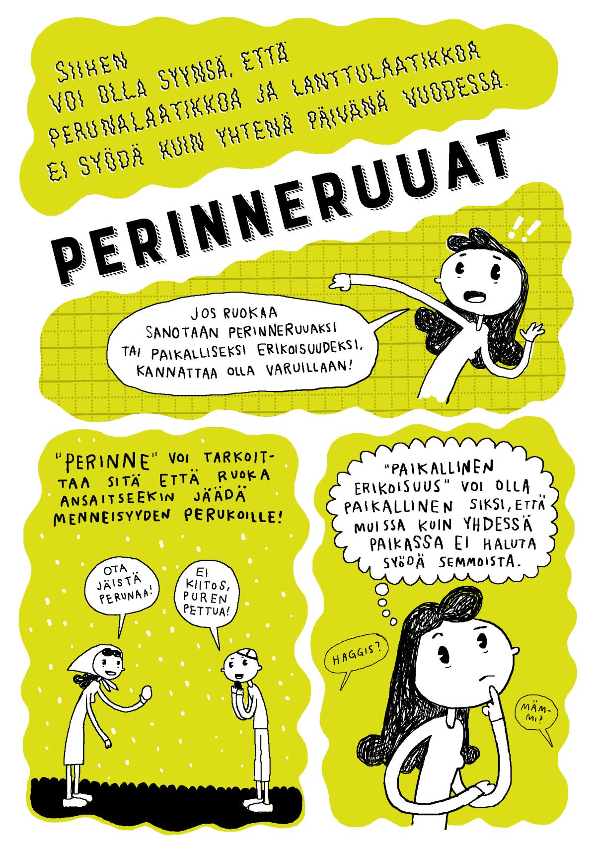 perinneruoka-sarjakuva