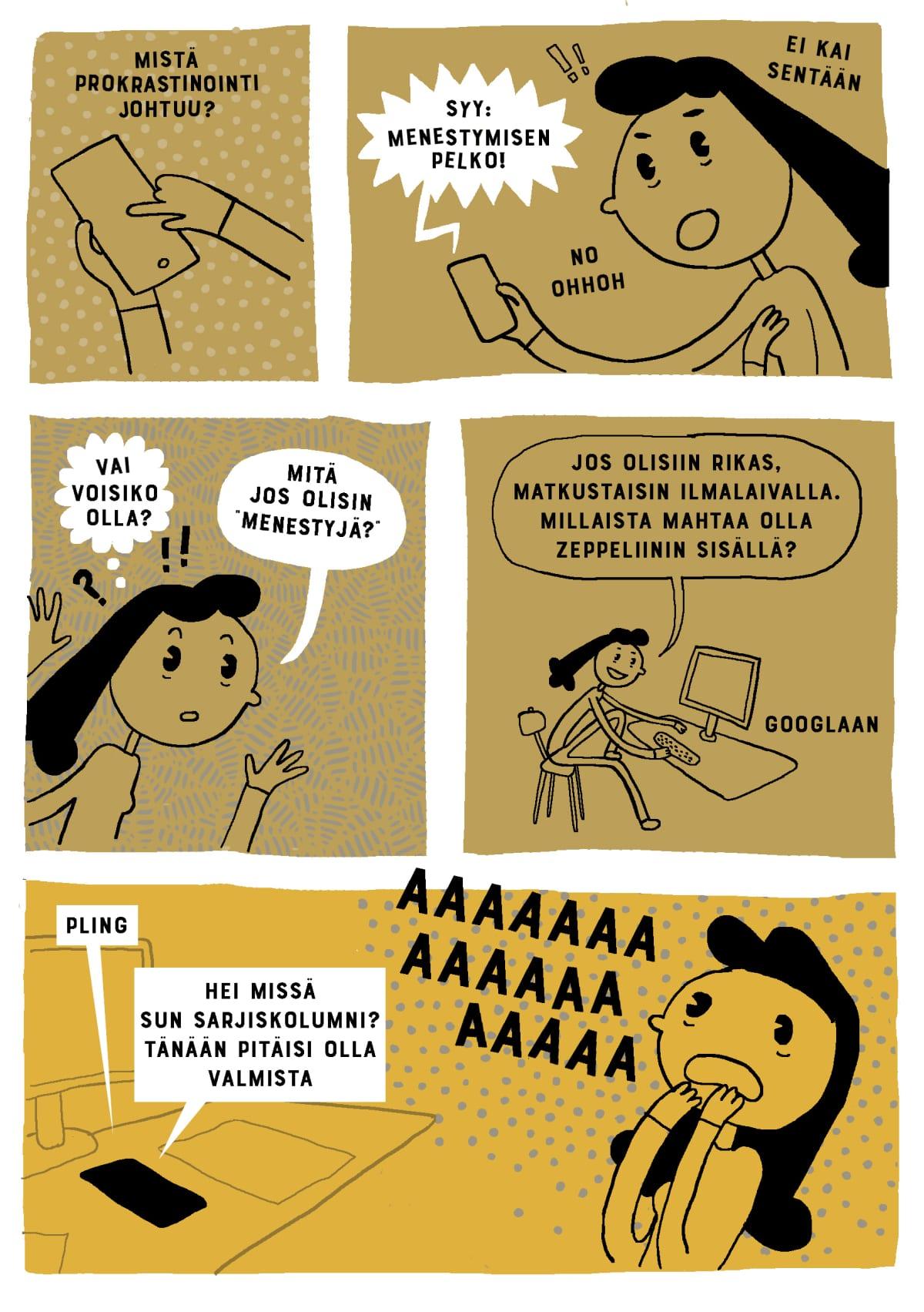 sarjakuvakolumni