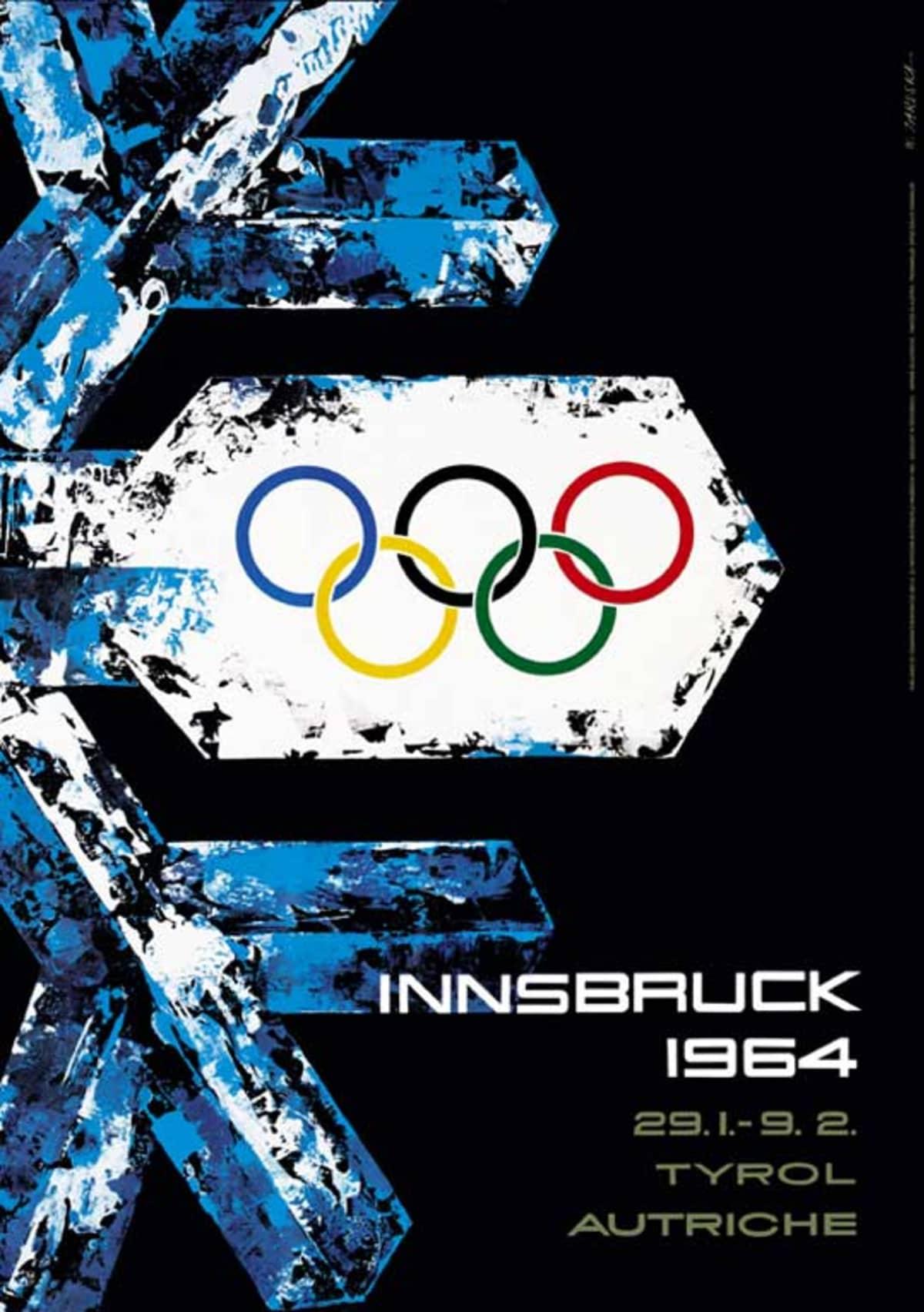 Innsbruckin kisojen 1964 juliste.