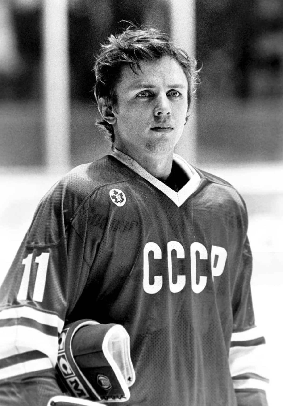 Igor Larionov oli osa Punakoneen legendaarisinta ketjua.