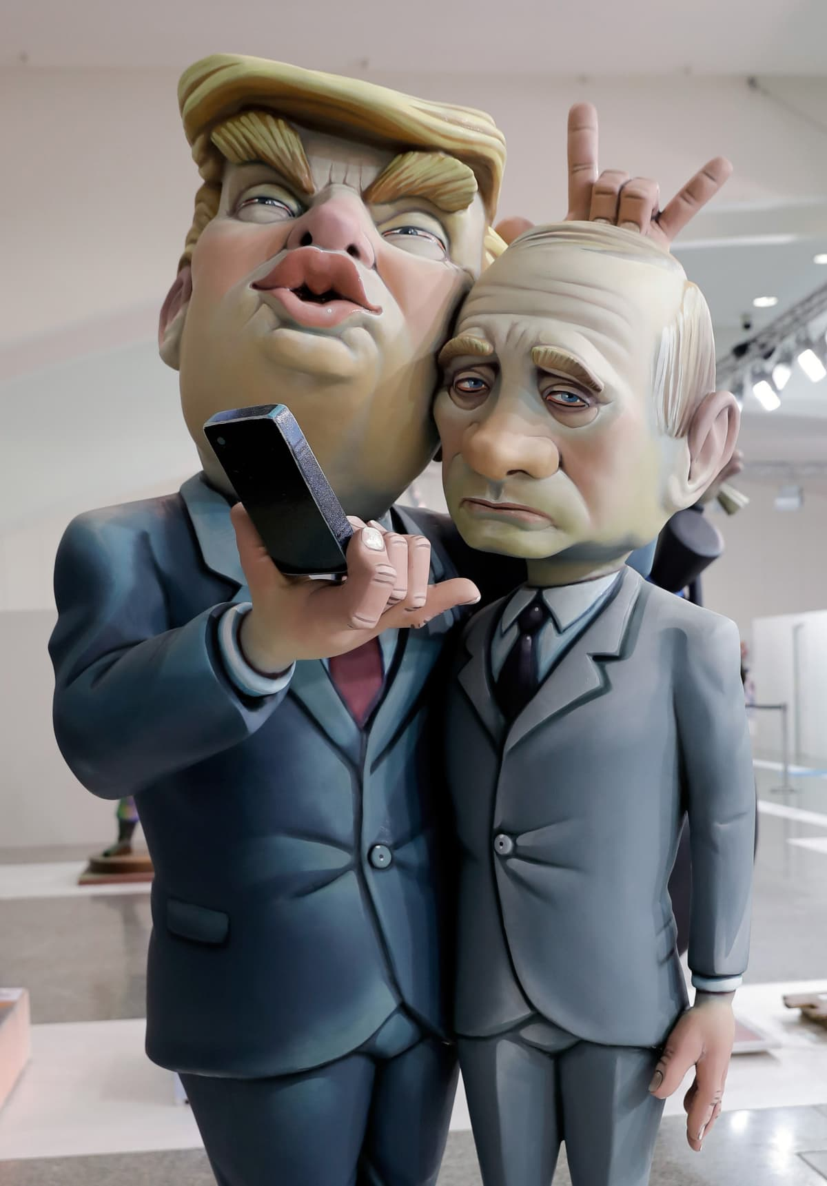 Trump ja Putin nuket