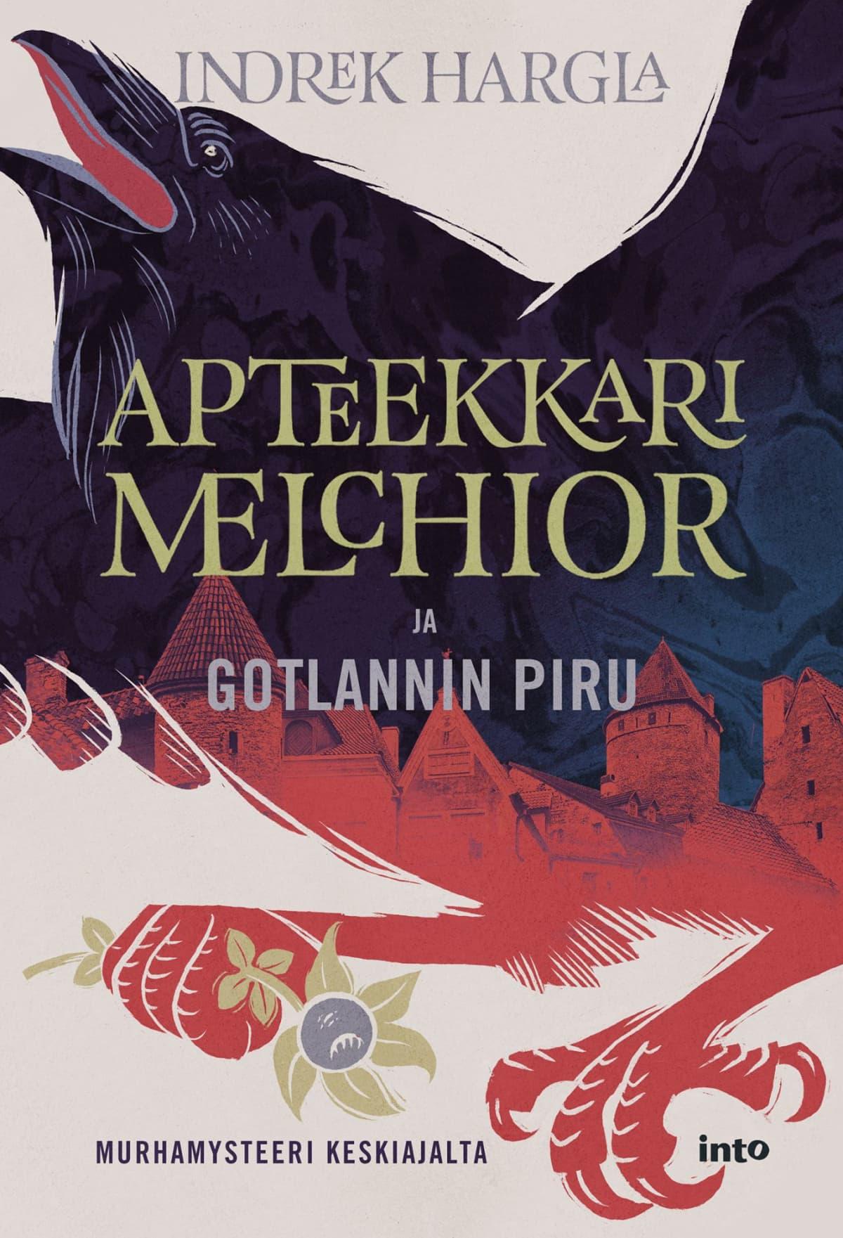 Indrek Harglan viimeisimmän kirjan kansi, Apteekkari Melchior ja Gotlannin piru