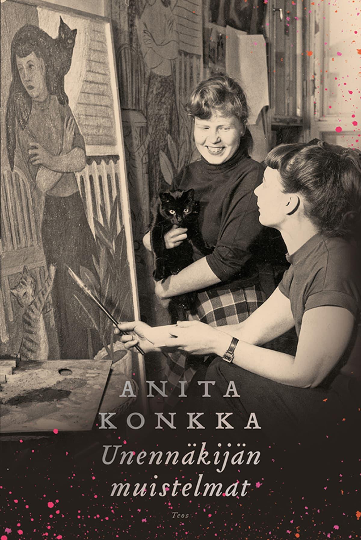 Anita Konkka: Unennäkijän muistelmat -kirjan kansi