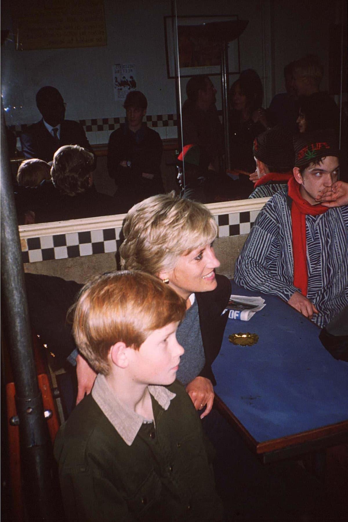 Harry, Diana ja koditon mies.