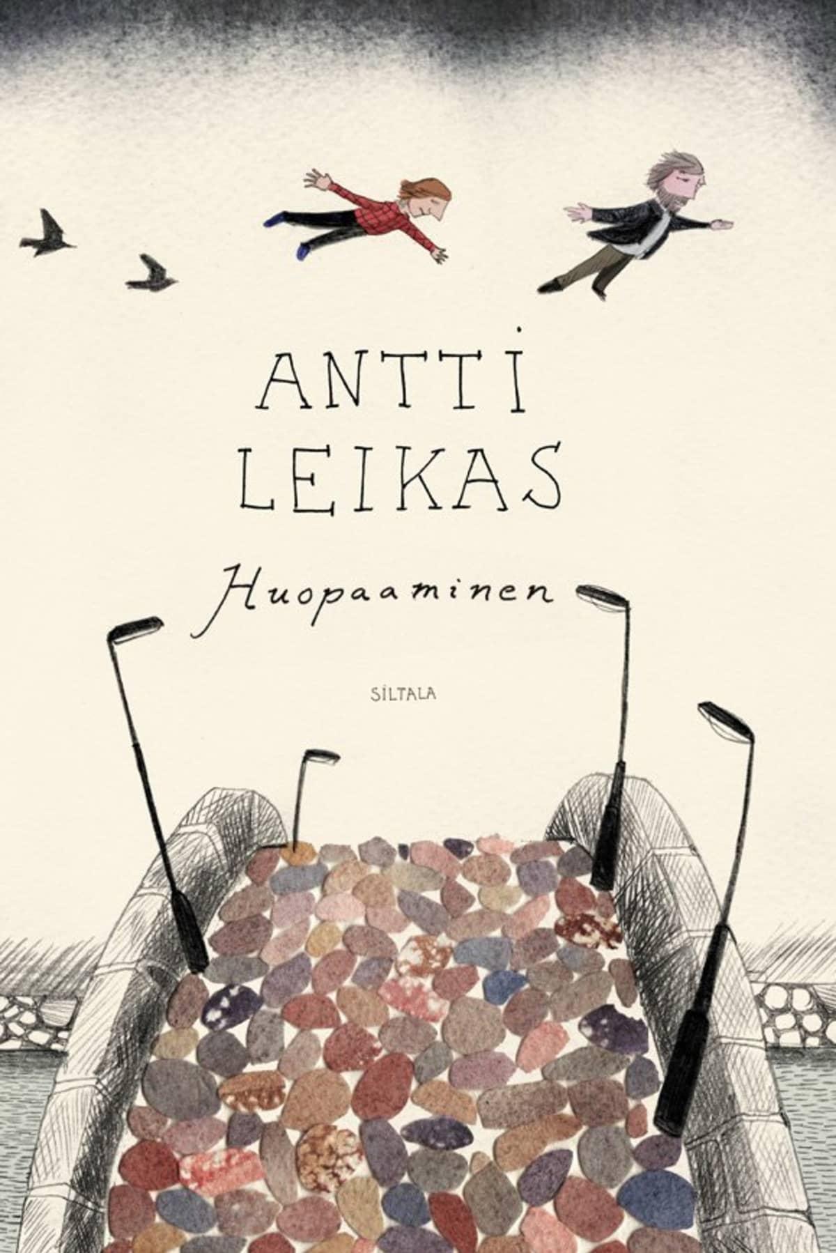 Antti Leikas; Huopaaminen -kirjan kansi