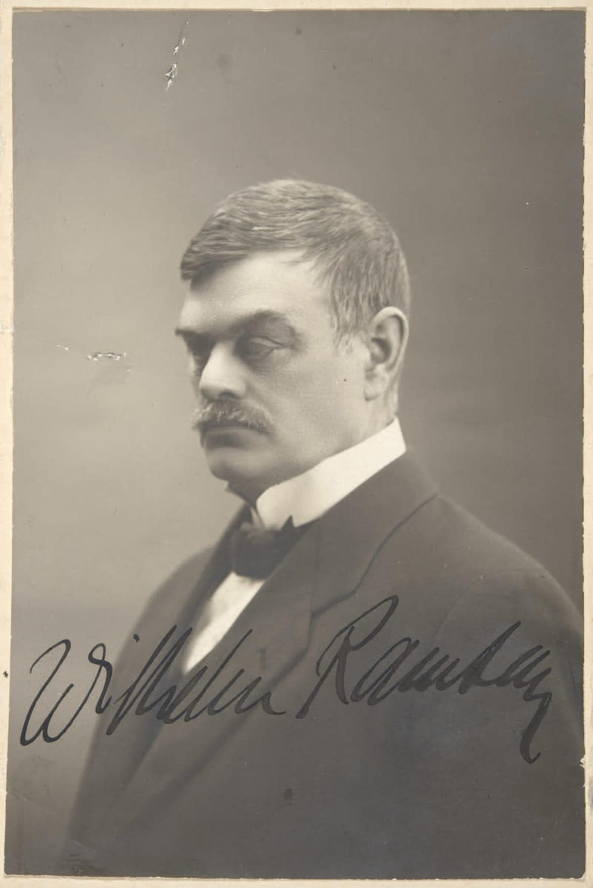Wilhelm Ramsay 1915
