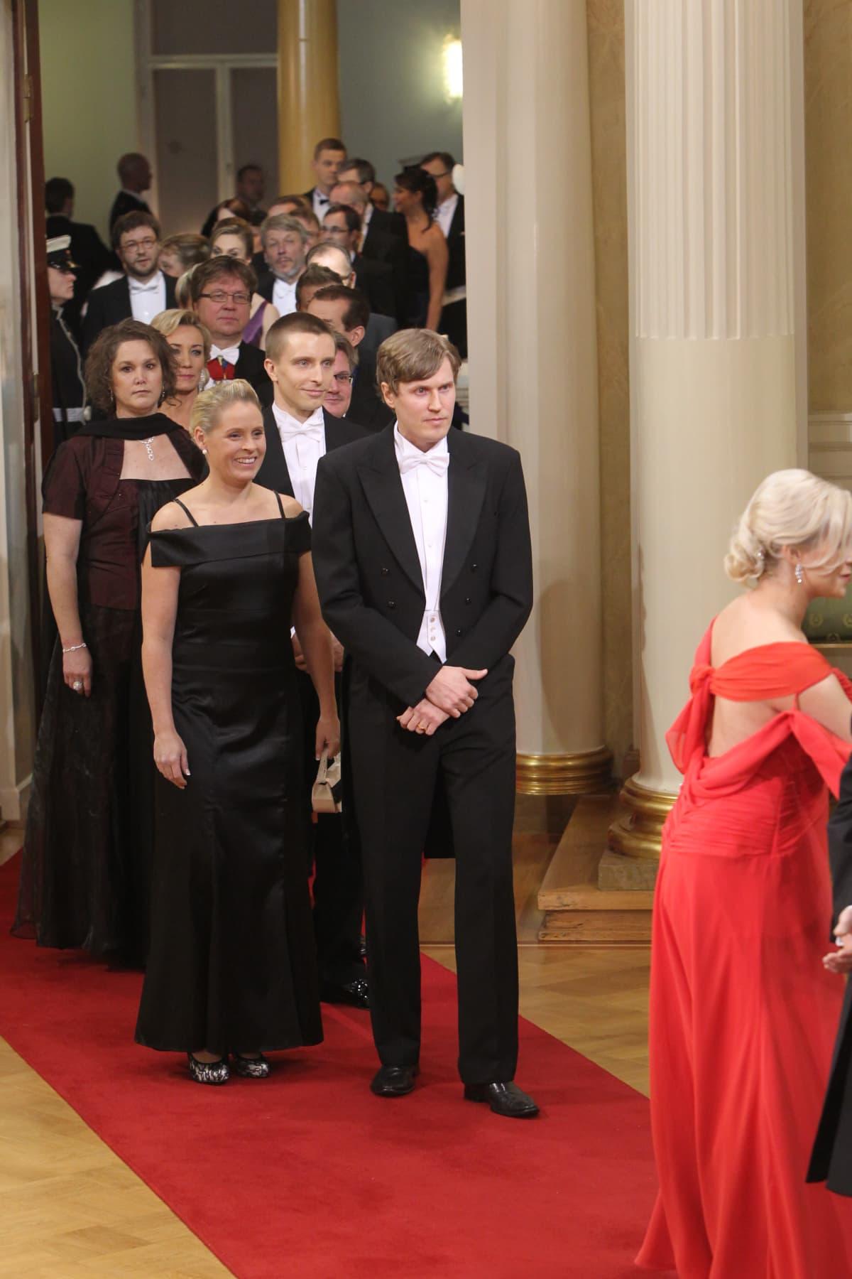 Mika Kohonen Linnan juhlissa 2011.