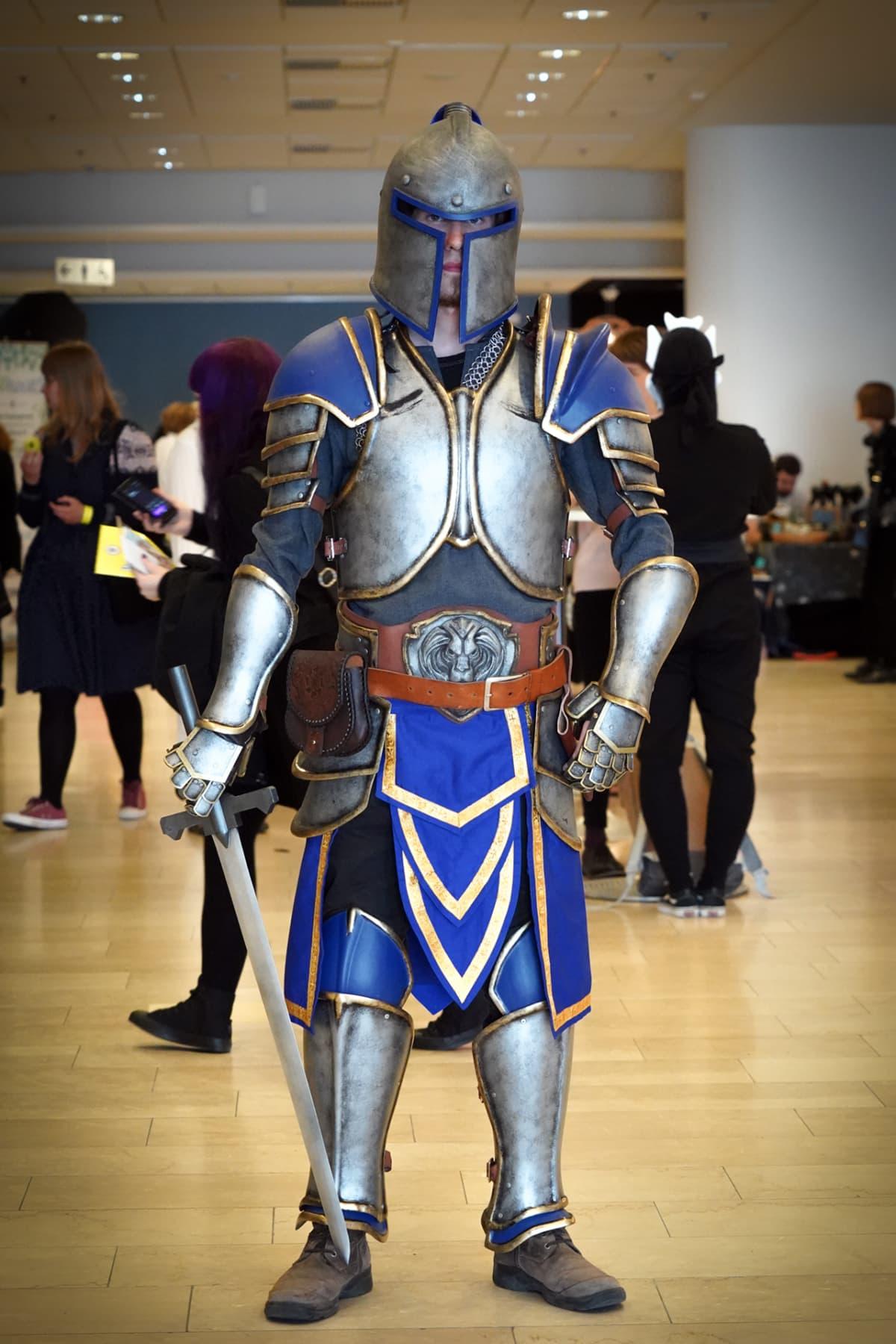 Joni Ruonala, Stormwind Guard, World of Warcraft, Popcult, cosplay