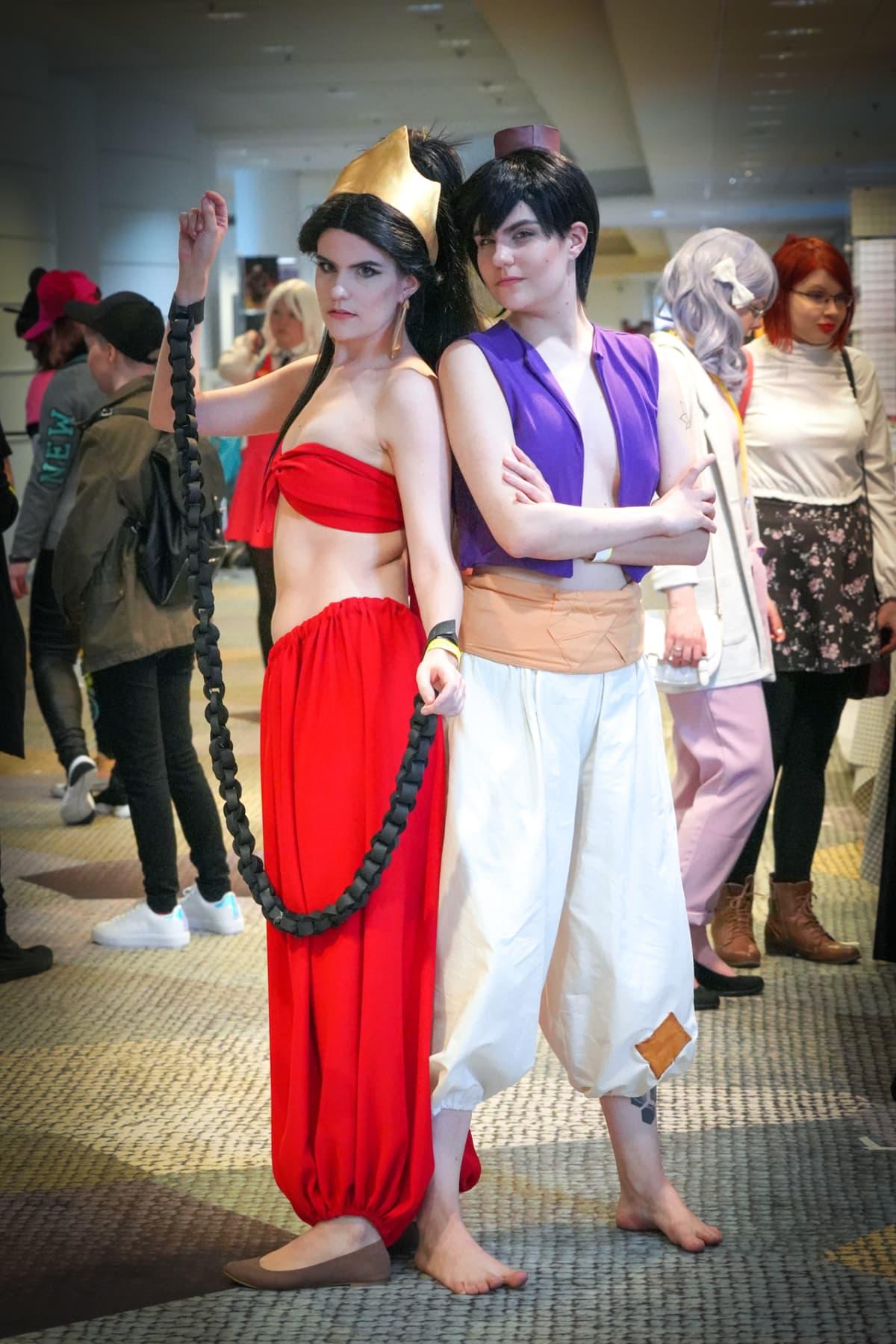 Prinssi Ali, Jasmine, Popcult, cosplay