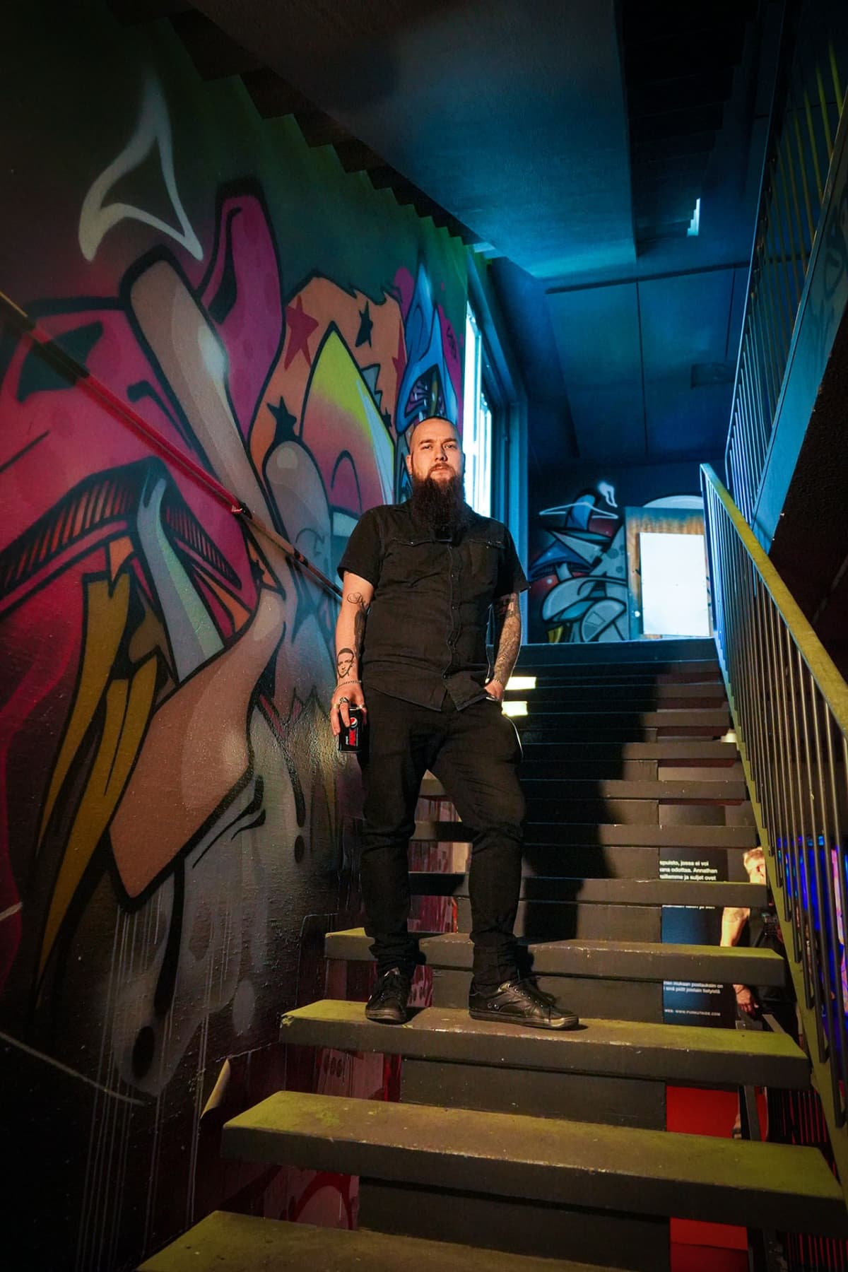 Niko Hill, graffiti, Kerava, purkutaide