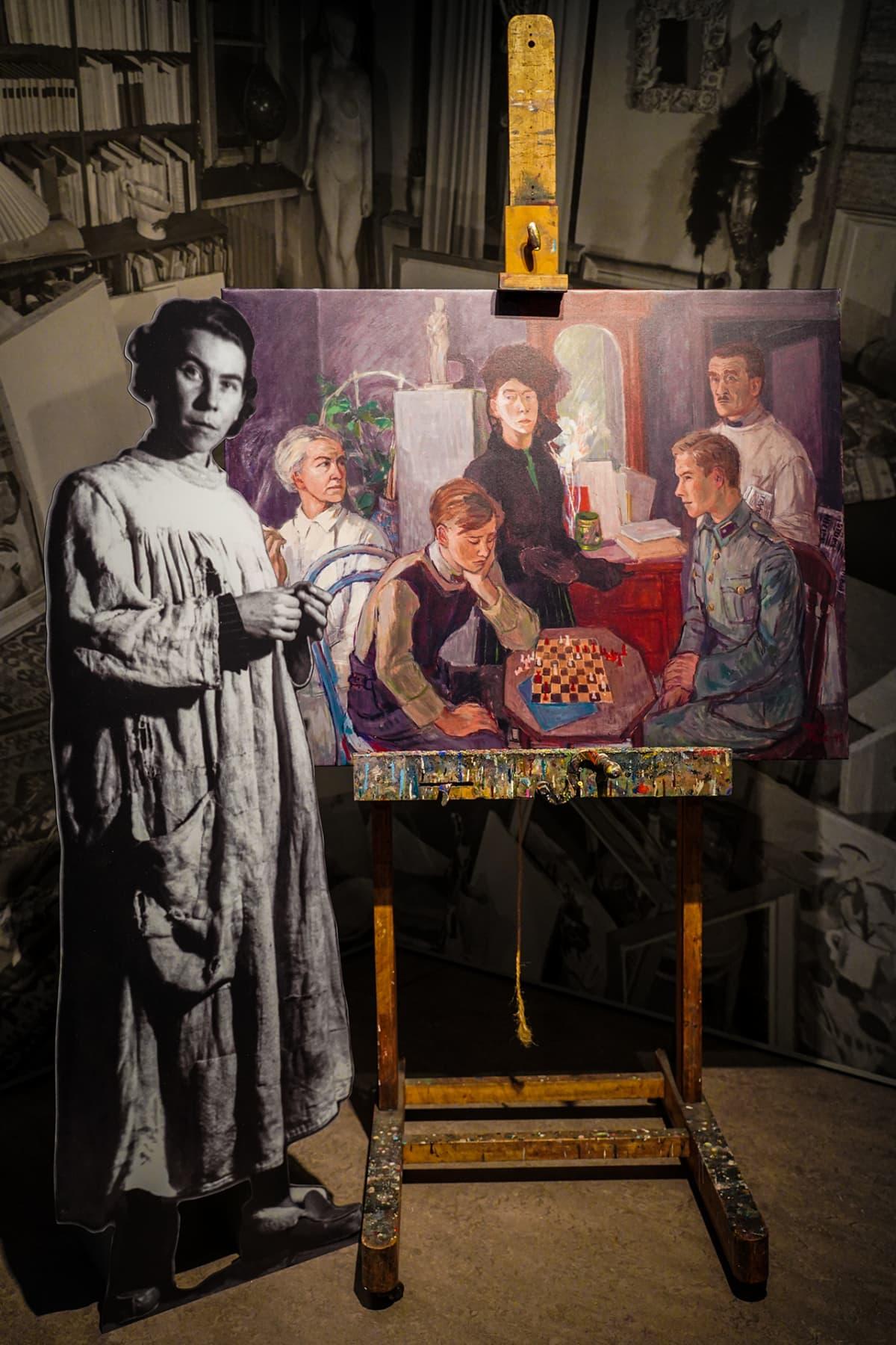 Muumit 75, Kansallismuseo, Tove Jansson