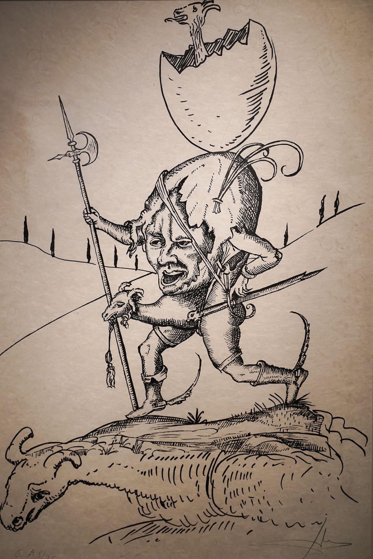 Salon taidemuseo, Salvador Dali, väärennös