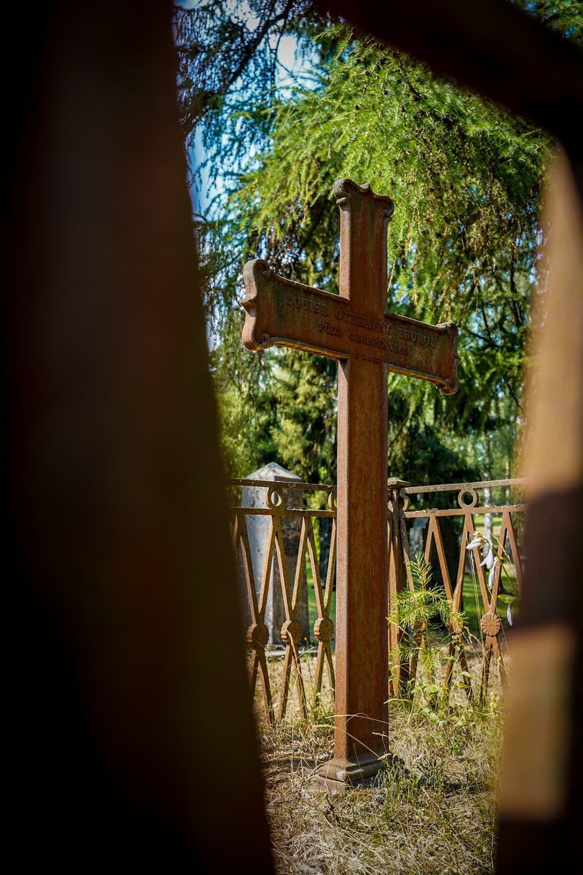 risti, hautausmaa, Mikkeli