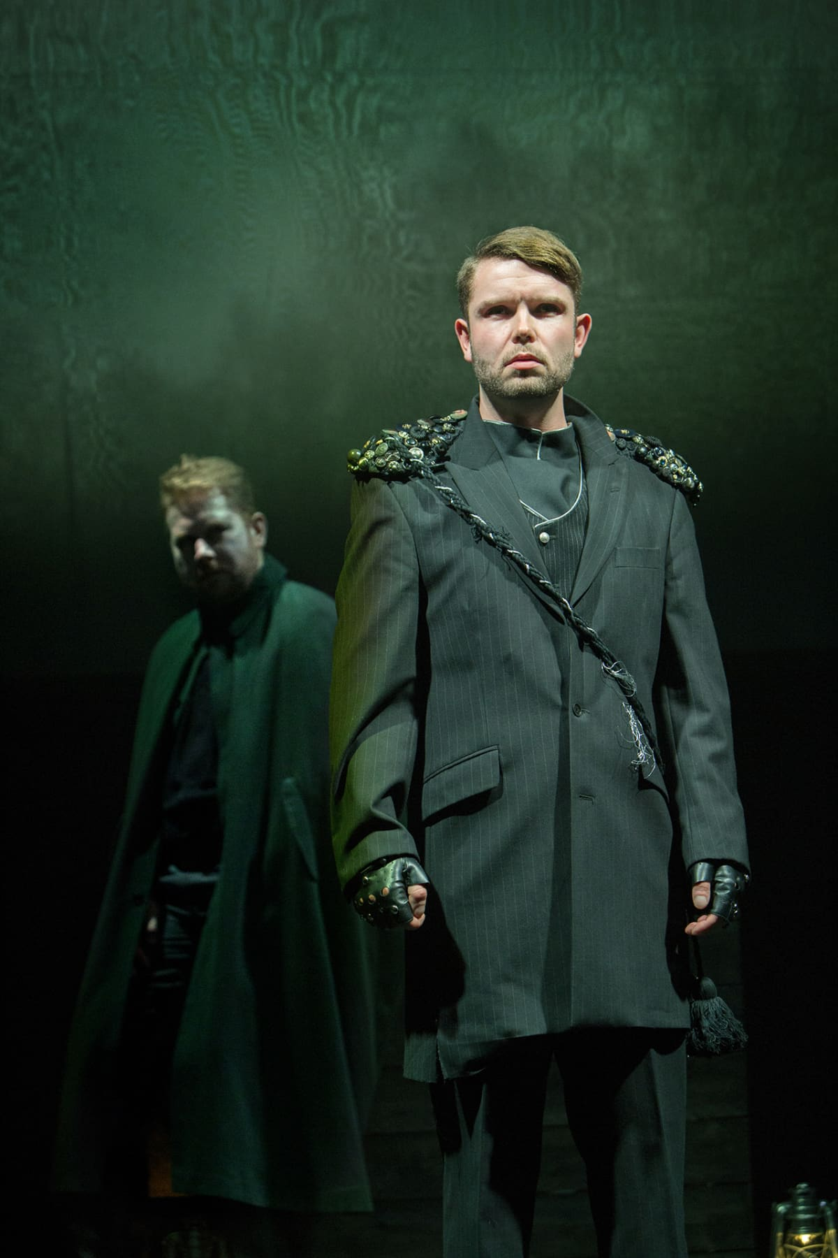 Nicholas Söderlund (vas.) ja Joonas Asikainen.