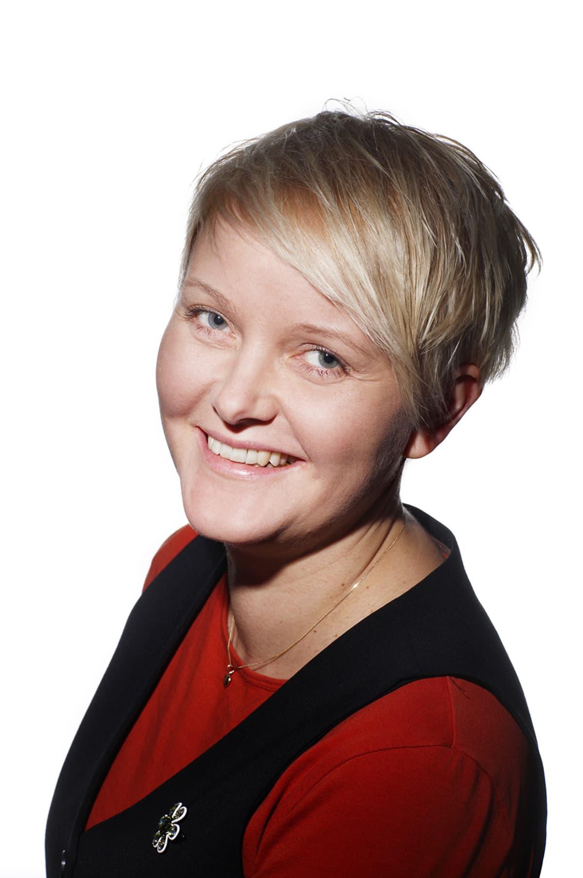 Talouselämän toimittaja Ninni Myllyoja.
