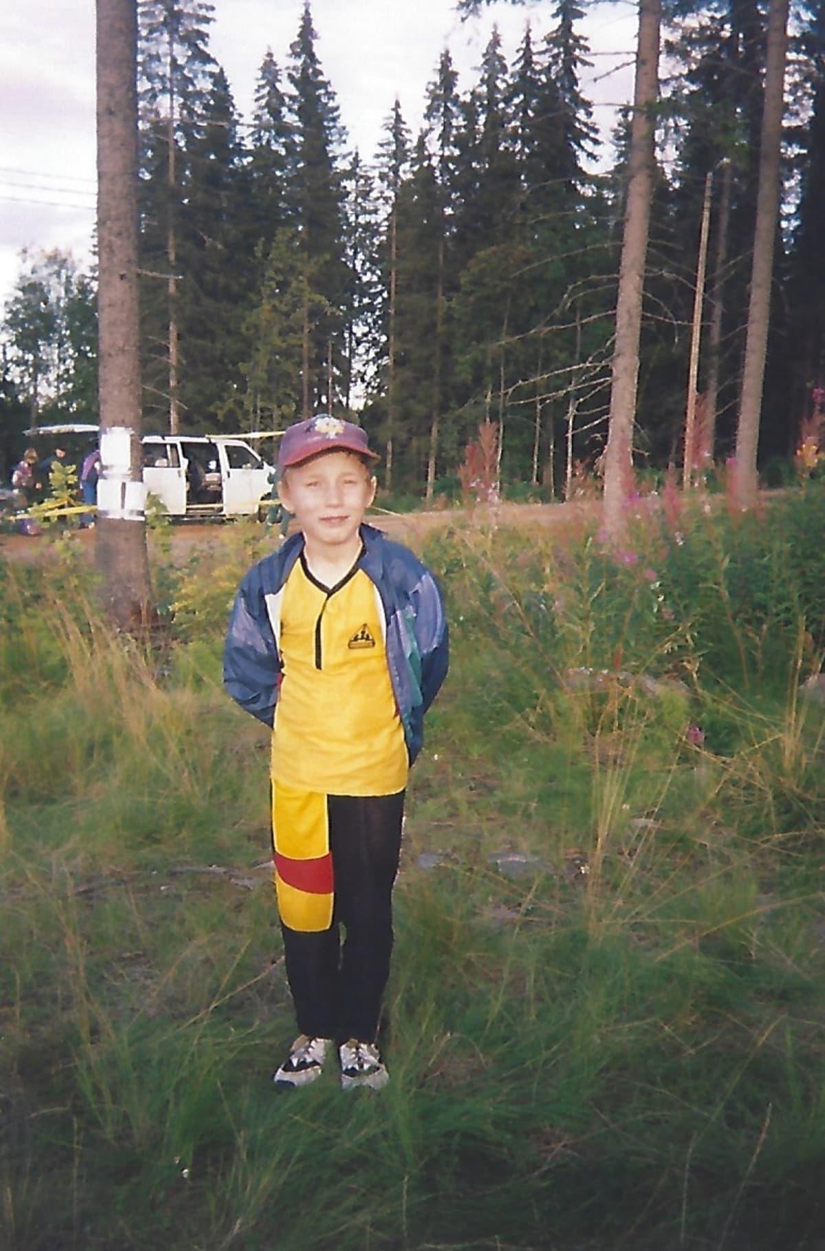 Antti Pendikanen lapsena