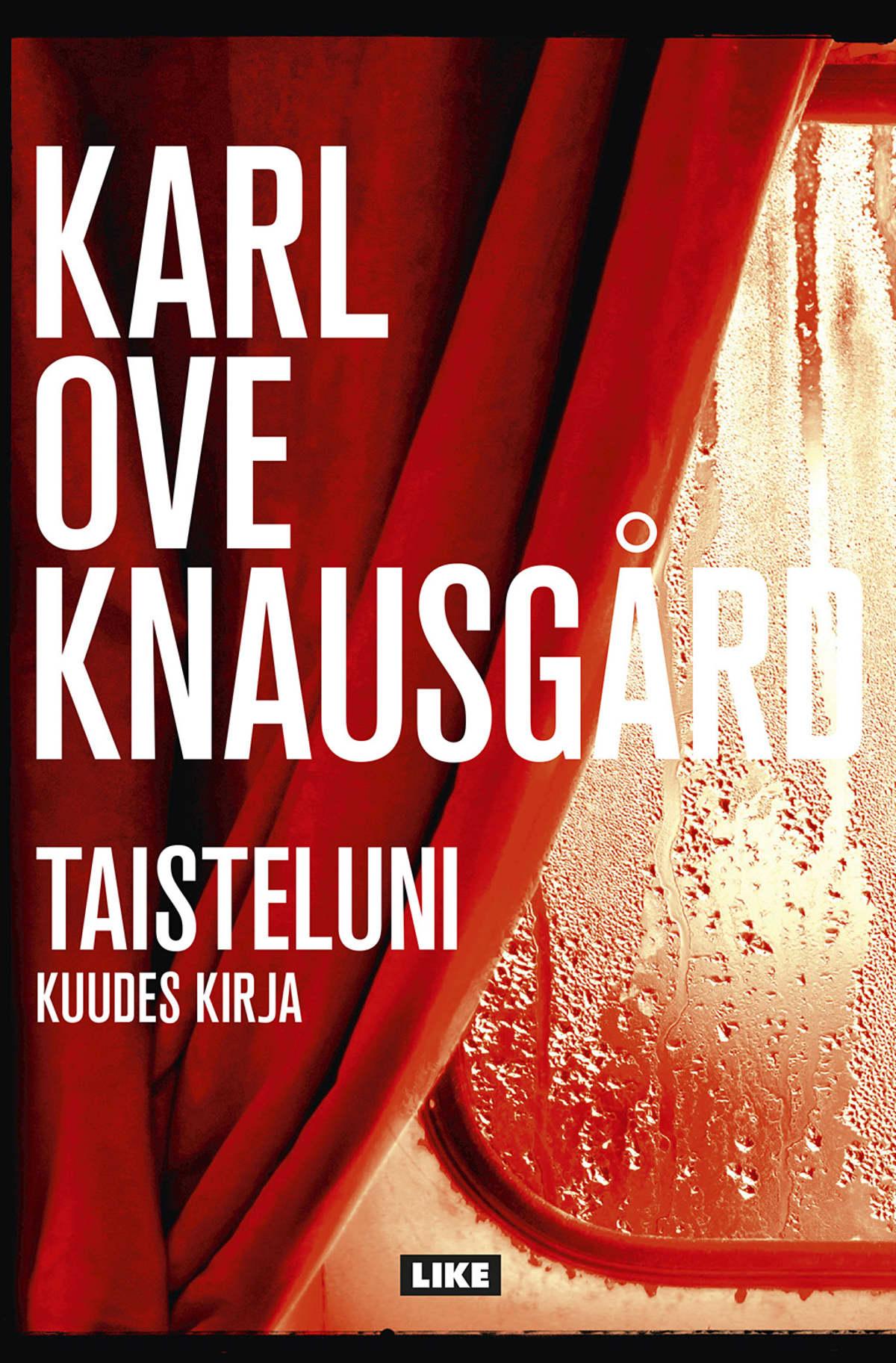 Karl Ove Knausgård kirjankansi.