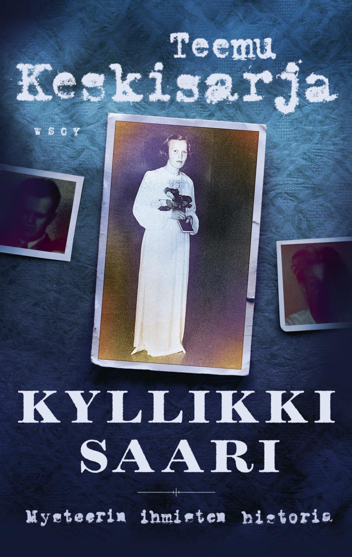 Kyllikki Saaren murhasta kertovan kirjan kansi.