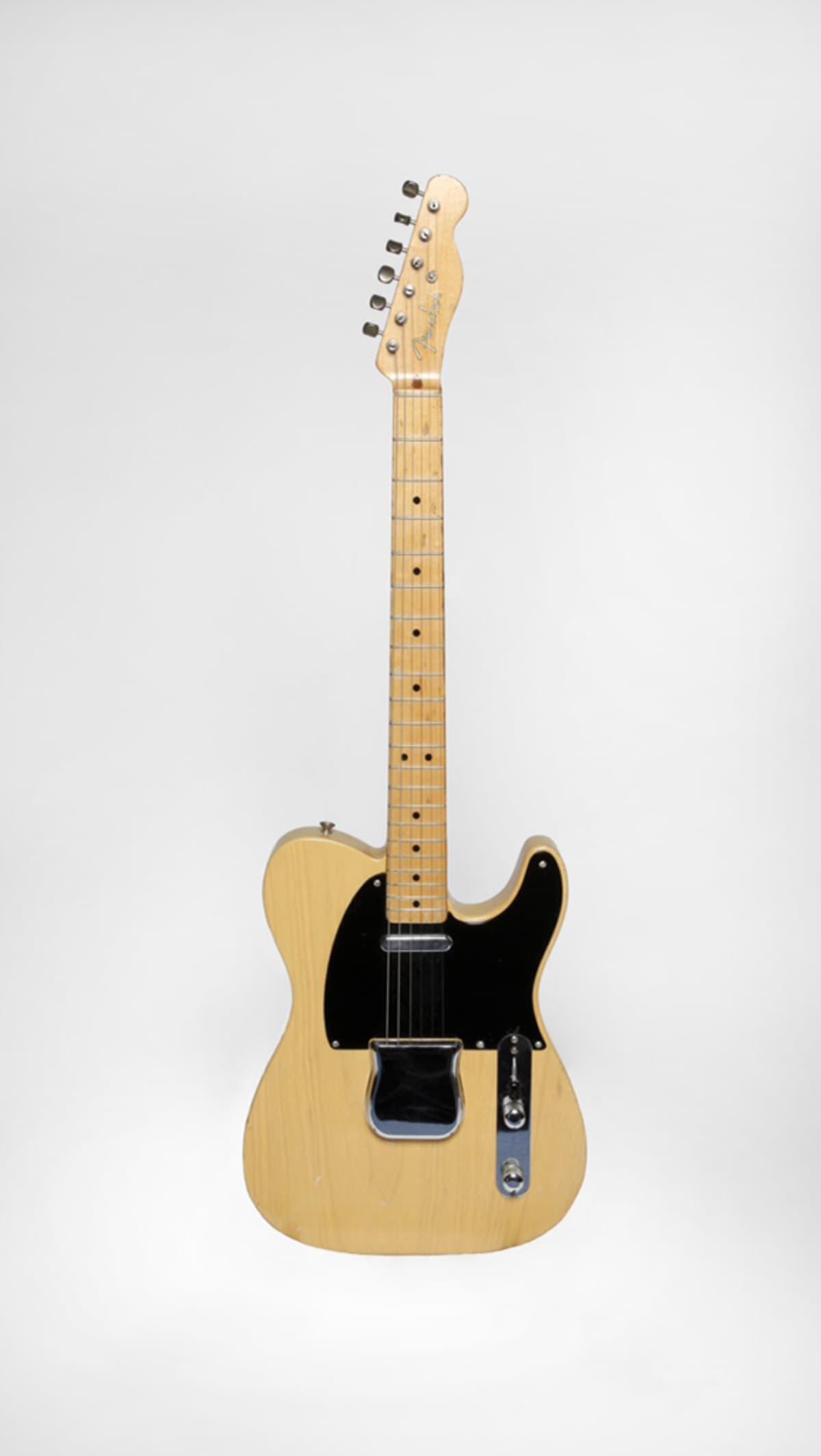 Fender Nocaster vuosimallia 1951.
