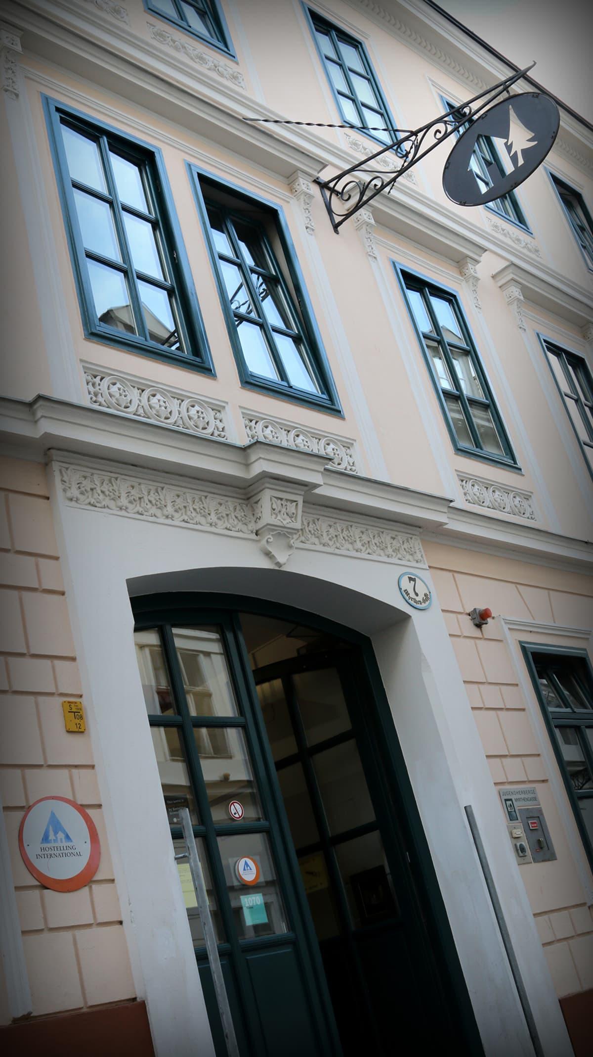 Pekka Haaviston suosittelema Myrthengasse Hostel, Wien.