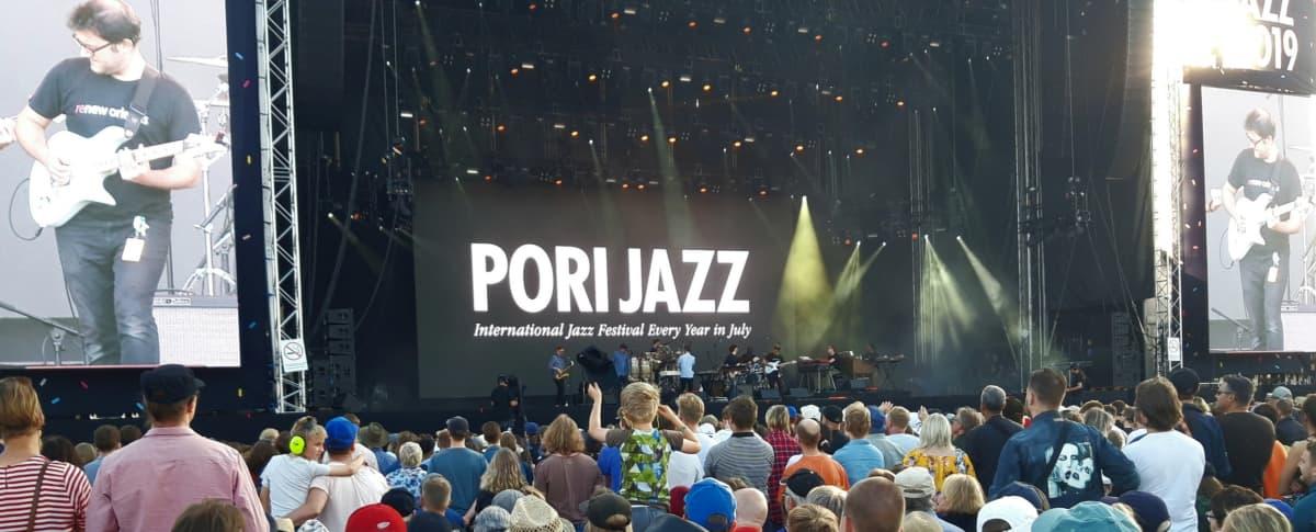 Pori Jazz jazzfestivaali jazz