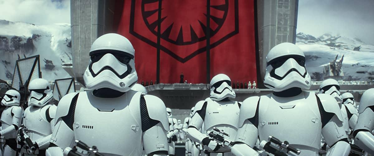 Star Wars, The Force Awakens.