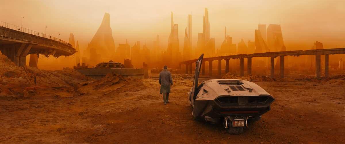 Blade Runner 2049 -elokuvan pressikuva.