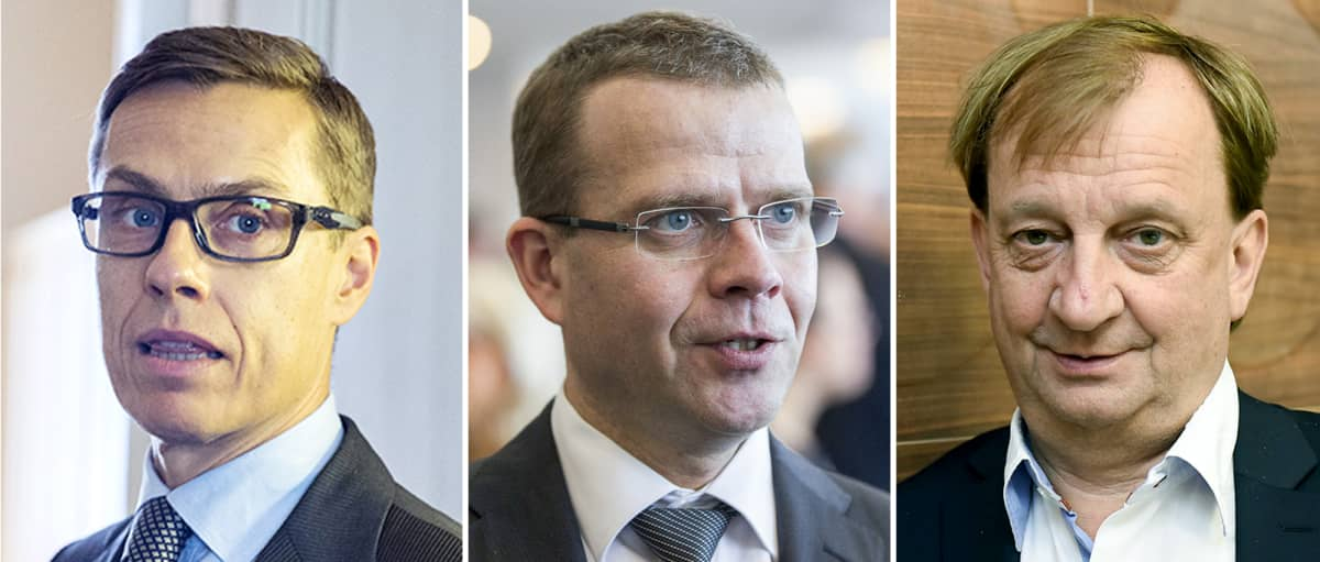 Alexander Stubb, Petteri Orpo, Harry Harkimo