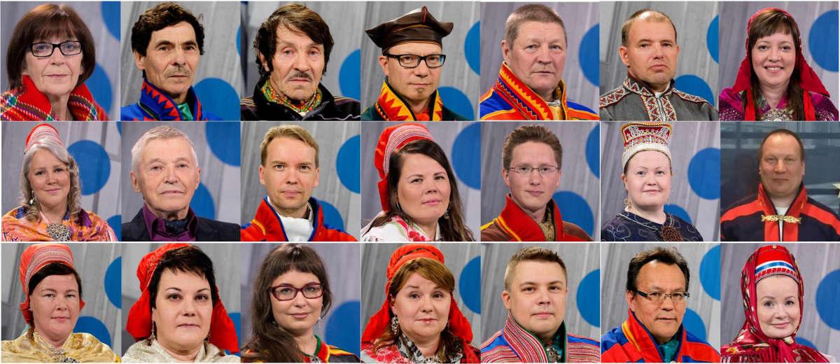 Sámediggi 2016–2019. Saamelaiskäräjät 2016–2019. The Sámi Parliament of Finland 2016–2019.