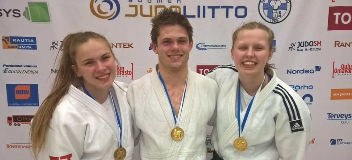 Kirkkonummen Judoseura vei Oulussa järjestetyssä SM-kisoissa kolme mestaruutta ja oli toisena vuotena peräkkäin paras miltaliseura.