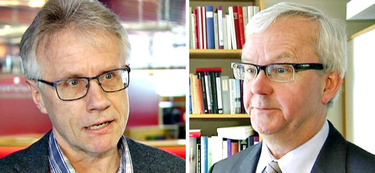 Arto Sulonen ja Olli Mäenpää.