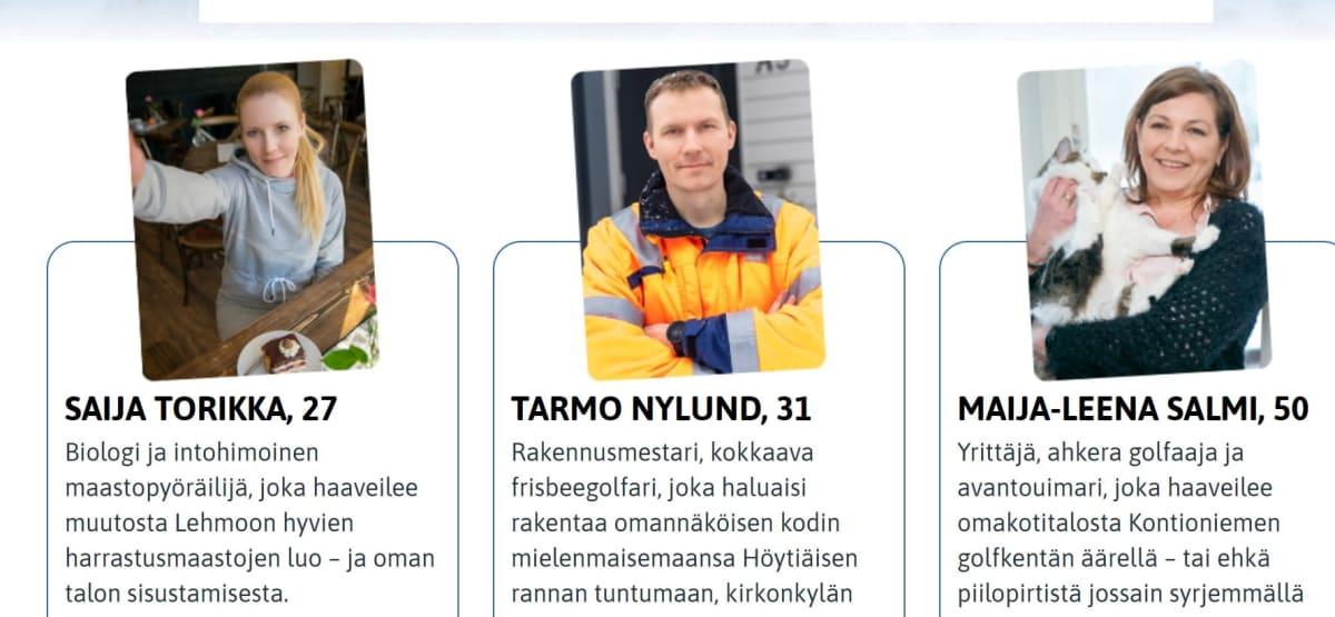 Ruutukaappaus Kontiolahden kunnan Tonttilähettiläät-sivustolta.