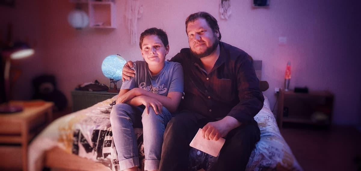 Jonas Berghäll ja poika